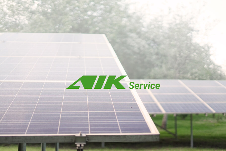 Corporate website for AIK Service
